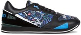 Kenzo K-run Tiger-print Leather Trainers