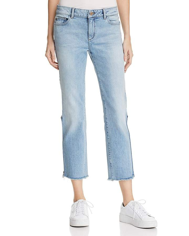 DL1961 Mara Instasculpt Ankle Straight Jeans in Marina