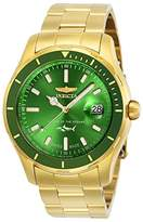 Invicta Men's 'Pro Diver' Quartz Stainless Steel Casual Watch, Color:Gold-Toned (Model: 25812)