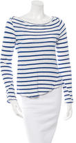 A.L.C. Striped Long Sleeve Top
