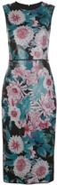 Diane von Furstenberg sleeveless floral print dress