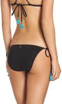 Nanette Lepore Women's Vamp Side Tie Bikini Bottoms