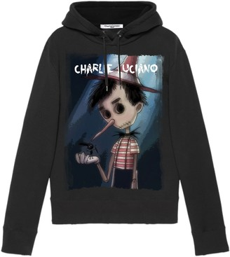 Charlie Luciano Pinocchio Unisex Print Hoodie