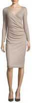 Max Mara Teso 3/4 Sleeve Sheath Dress
