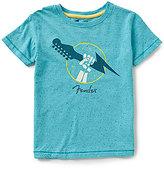 Lucky Brand Little Boys 4-7 Flash Rock Short-Sleeve Graphic Tee