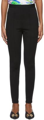 Balenciaga Black Logo Jogger Leggings