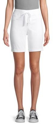 No Boundaries Juniors' Pull-On Bermuda Shorts