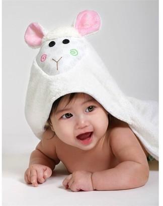 Zoocchini Baby Towel, Lola The Lamb