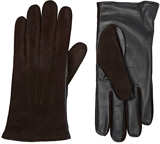 Barneys New York Men's Tech-Smart Suede Gloves