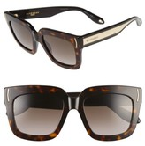 Givenchy Women's 53Mm Sunglasses - Burgundy/ Brown