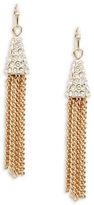 Dogeared Pave Tassel Earrings