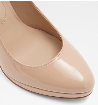 Aldo Ibaoni Heeled Platform Shoes - Nude