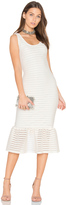Twenty Mesh Crochet Bodycon Dress