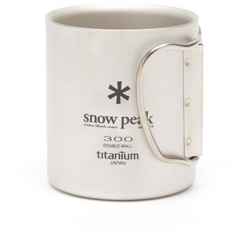 Snow Peak Double-walled Insulated Titanium Mug - Grey