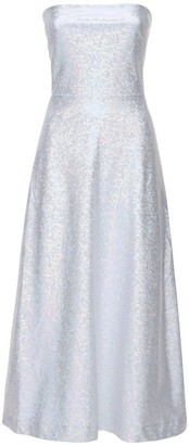 Saks Potts Jepska Shimmer Stretch Jersey Midi Dress