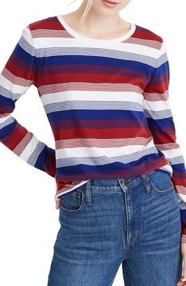Madewell Northside Vintage Stripe Long Sleeve T-Shirt (Regular & Plus Size)