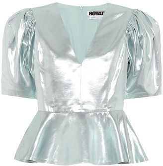 Rotate by Birger Christensen Mindy metallic top