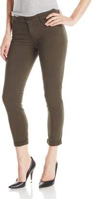 Habitual Women's Aaron Crop Roll Jean in Wildwood 24