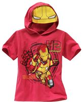 Iron Man hooded tee - boys 4-7
