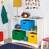 RiverRidge Kids Horizontal 2-Shelf Bookcase in White