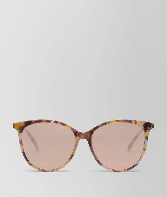 Bottega Veneta Multicolor Acetate Sunglasses