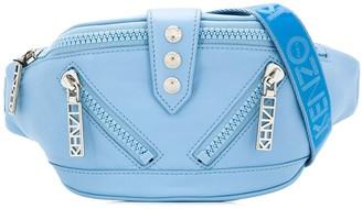 Kenzo Zip Panelled Belt Bag