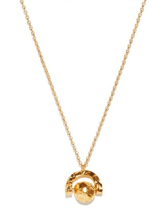 Alighieri The Red Rock 24kt Gold-plated Pendant Necklace - Gold