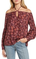 The Fifth Label Women's Carousel Print Off The Shoulder Top