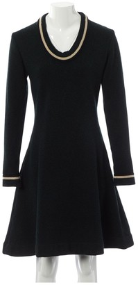 Bouchra Jarrar Green Wool Dress for Women