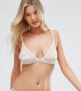 Peek & Beau Applique Bikini Top B-F Cup