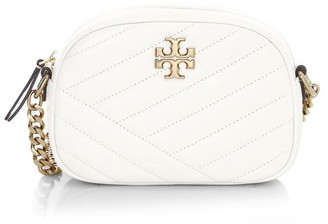 Tory Burch Small Kira Chevron Leather Camera Bag