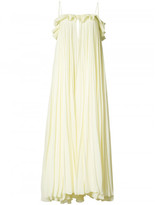 ADAM by Adam Lippes sleeveless pleated chiffon gown