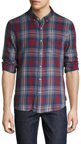 Joe's Jeans Slim Fit Plaid Sportshirt
