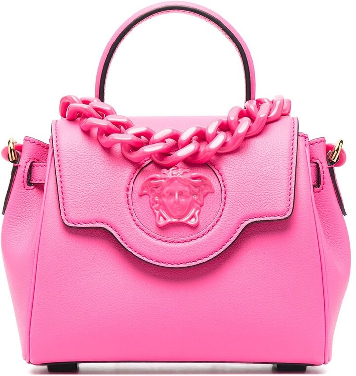 Fancy beach bag Tula Pink Pink shopping bag Medusa Pink shopping bag Pink Tote bag Pink medusa big bag Medusa Medusa pink maxi bag