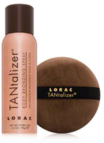 LORAC TANtalizer Body Bronzing Spray With Puff