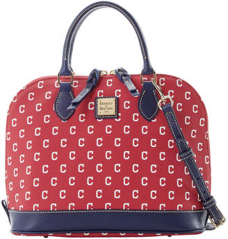 Dooney & Bourke MLB Indians Zip Zip Satchel