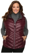 Andrew Marc Plus Size Ruby Down Sweater Vest