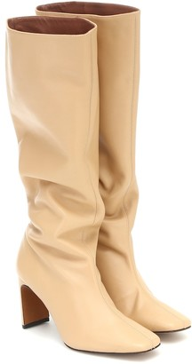 Souliers Martinez Enero knee-high leather boots
