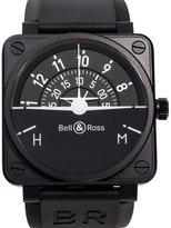 Bell & Ross Bell and Ross Aviation BR01 Flight Instruments Men's Watch BR01-TURN-COORDINATO