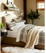 Pottery Barn Faux Fur Throw - Ivory