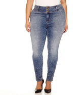 Boutique + Boutique+ High-Rise Skinny Jeans - Plus