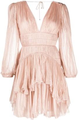 Maria Lucia Hohan Dania pleated mini dress
