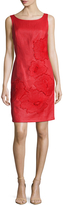 Josie Natori Women's Lacquered Raffia Dress