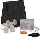 HG100218 - Hygeia Q Breast Pump with Basic Tote, PAS Personal Accessory Set by Hygeia Ii Medical Group Inc.