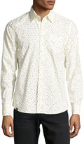 Wesc Orien Dot-Print Cotton Sport Shirt