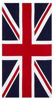 George Home 100% Cotton Union Jack Printed Beach Towel