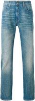 Gucci stonewashed Web jeans