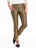 Old Navy Mid-Rise The Pixie Printed Pants for Women