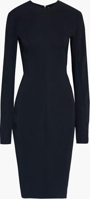 Victoria Beckham Cutout Crepe De Chine Dress