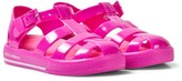 Dolce & Gabbana Pink Branded Jelly Shoes